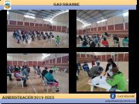 Reunión con la comunidad de Chegche
